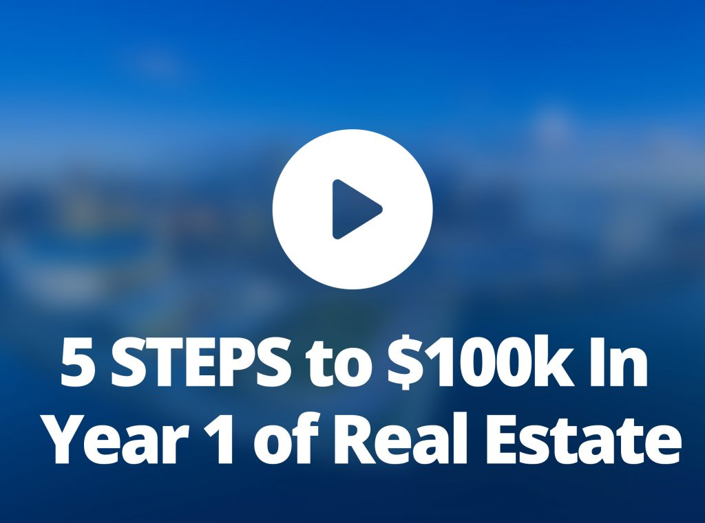 5 STEPS to $100k In Year 1 of Real Estate – Real Estate Social Rockstar Show #25 PressPlay Realty